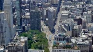 High Angle View of Flatiron Building in Manhattan video