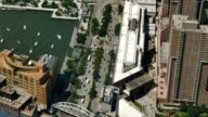 High Level View of Hudson River Greenway and Westside Highway video