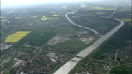 High Over King's Lynn  - Aerial View - England, Norfolk, King's Lynn and West Norfolk District, United Kingdom video