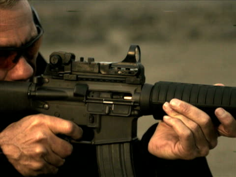 HIgh Speed Camera - M16 Rifle video