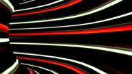 High speed technological light strokes tunnel video