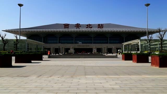 high speed train railway station video