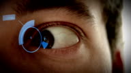 High Tech Eye - Futuristic Technology video