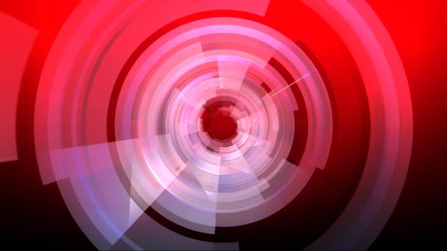 High Tech Tunnel Red HD video