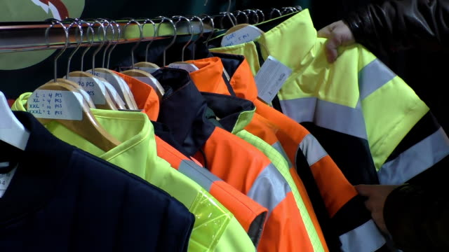 High visibility protective clothes video