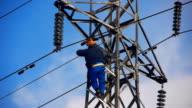 High voltage works video