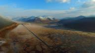 High-altitude aerial wetland,Yunnan,China video