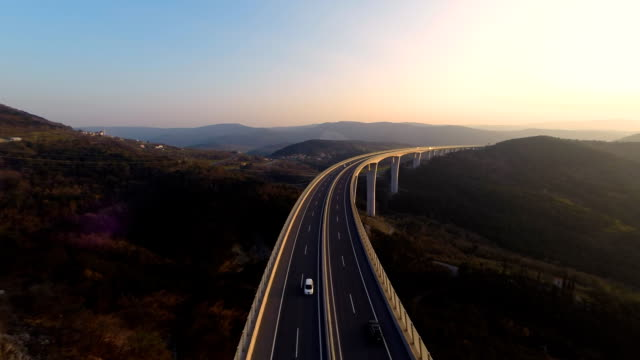 HD HELI: Highest Viaduct In Slovenia video