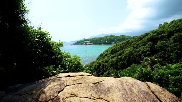 high-point Seychelles opening wide viev video
