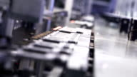 High-Tech Production Line video