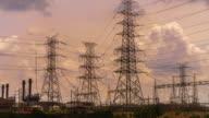 High-voltage tower video