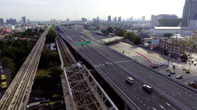 HIghway and Transportation Bridge cross River video