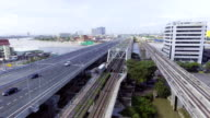 HIghway and Transportation Bridge cross River video