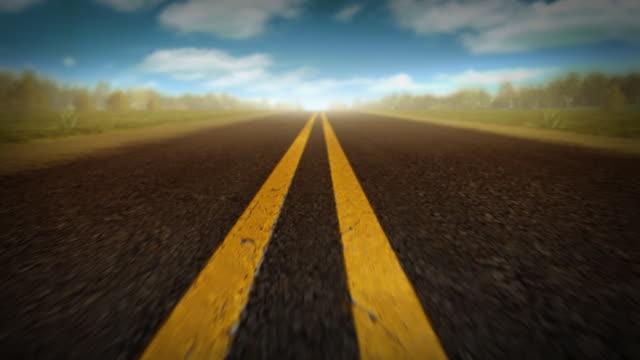 Highway B - Seamless Loop video