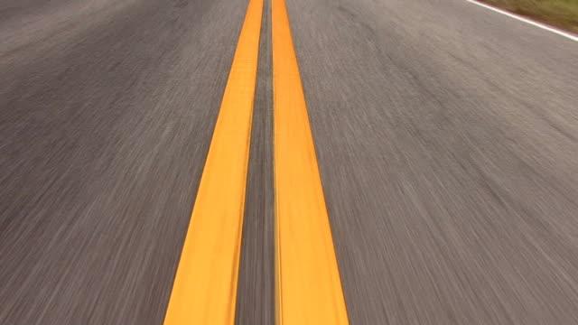 Highway center line video