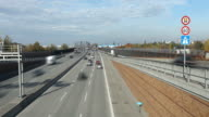 Highway in Germany - time lapse video