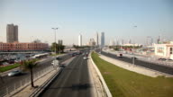 Highway in the city of Manama, Bahrain video