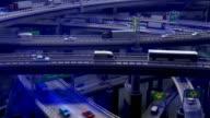 (Loop) Highway Spinning, High Traffic video