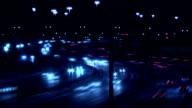 Highway timelapse. video