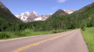 Highway to the Maroon Bells video
