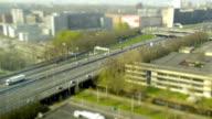Highway traffic at Amsterdam video