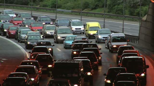 Highway traffic in Germany video