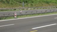 Highway traffic in Germany video