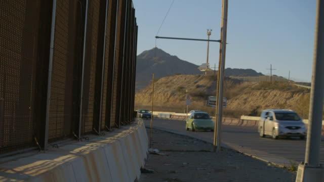 Highway Traffic Near Border video