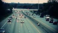 Highway traffic video