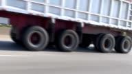 Highway Truck 18 wheeler video