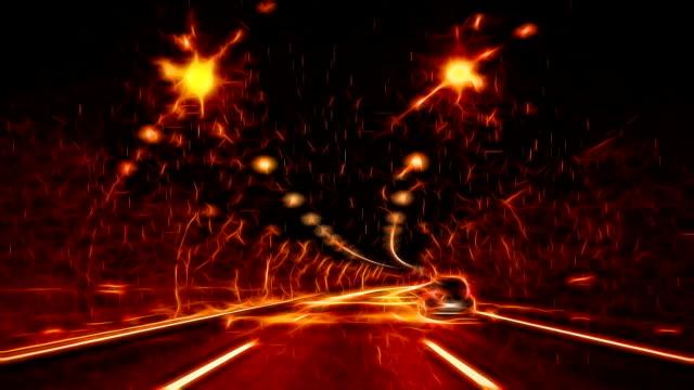 Highway Tunnel video