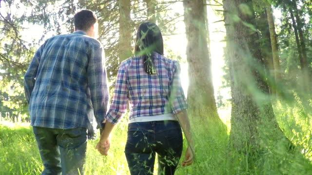 Hiking couple video