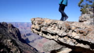 AERIAL: Hiking in Grand Canyon video