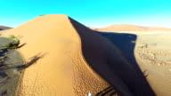 HELI Hiking On Namibian Sand Dunes video