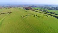 Hill of Tara in Ireland video