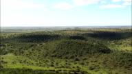 hills north of Bloemfontein - Aerial View - Orange Free State,  Lejweleputswa District Municipality,  Masilonyana,  South Africa video