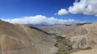 Himalaya mountain landscape - Leh highway in Ladakh video