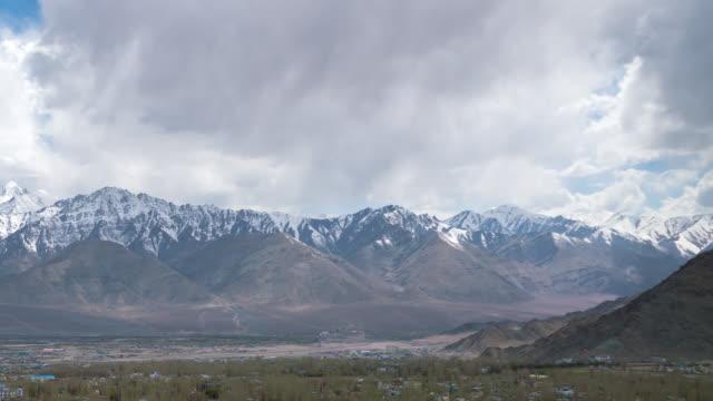 Himalayas mountain in leh ladakh india video