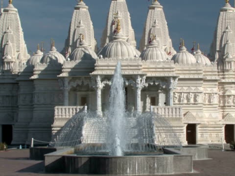 Hindu Temple Zoom-Out video