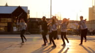 Hip Hop Dancer dancing at the street video