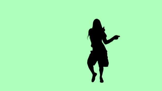 HD Hip Hop Girl, light green video