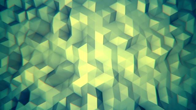 Hipster background 3D render seamless loop video