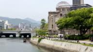 Hiroshima A-Bomb Dome & Riverside video