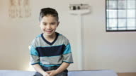 Hispanic Boy's Pediatrician Visit video