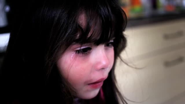 Hispanic girl cries really emotional video