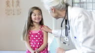 Hispanic Girl's Pediatrician Visit video