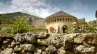 Historic abbey at St Guilhem le Desert, Cevennes France video