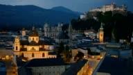 Historic city of Salzburg, Austria video