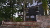Historic homes St Augustine FL video