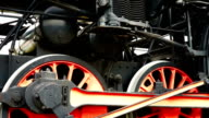 Historic steam locomotive video